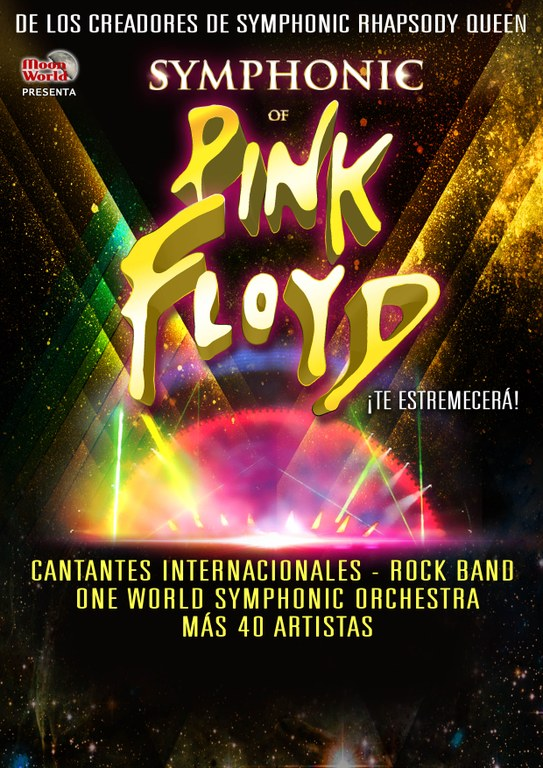 "El Palau acull l'espectacle ""Symphonic of Pink Floyd"""