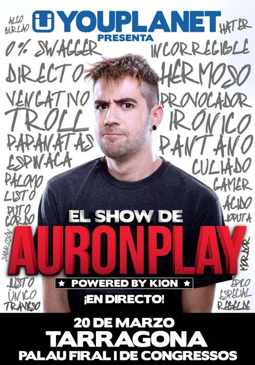 El youtuber Auronplay actuarà al Palau Firal i de Congressos
