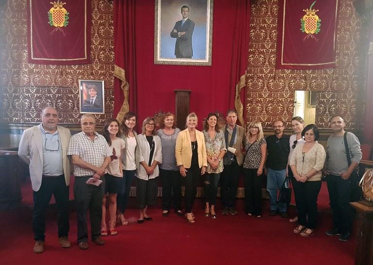 Reunió de la Conselleria de Comerç amb les Associacions Comercials de la ciutat