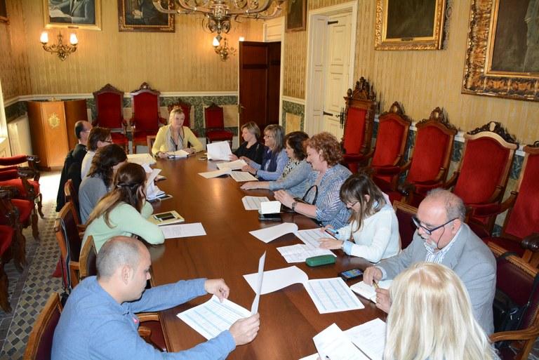 Reunió de la Taula de Treball de Comerç de Tarragona