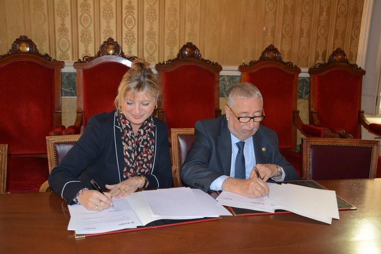 Ajuntament i Cambra de Comerç signen un conveni de col·laboració