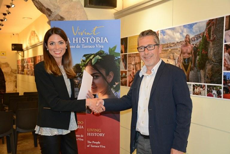 El Patronat de Turisme i l'Associació d'Apartament Turístics Costa Daurada i Terres de l'Ebre signen un conveni de col·laboració