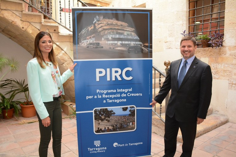 El Patronat Municipal de Turisme i el Port posen en marxa un programa integral per a la recepció de creuers