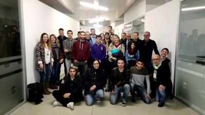 Els 21 joves emprenedors del programa Yuzz comencen a desenvolupar la seva idea de negoci