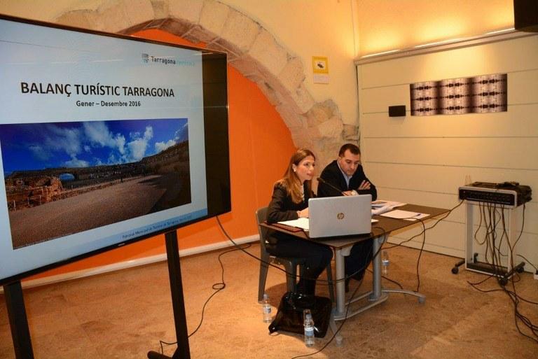 L'ocupació hotelera augmenta un 12% a Tarragona durant el 2016