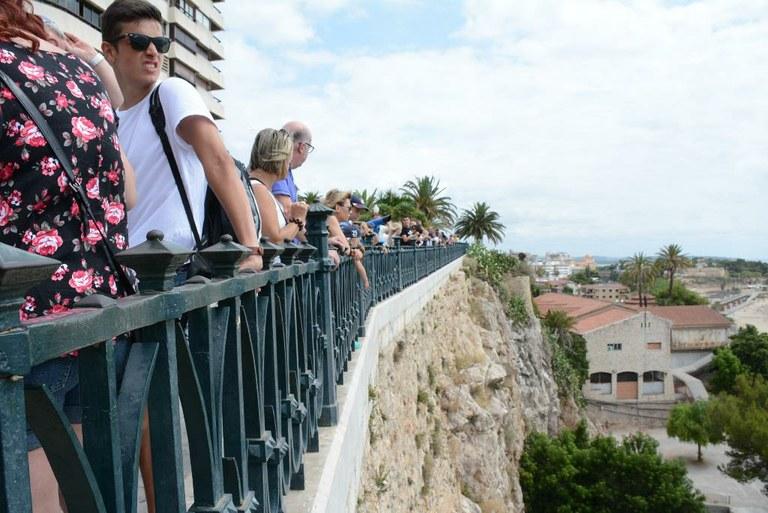 Mes de juliol històric en ocupació turística a la ciutat