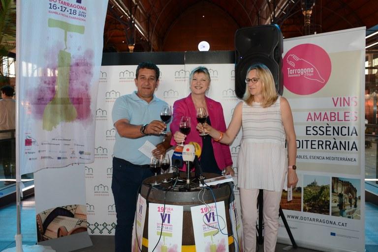 Tarragona celebra la 19a Fira del vi de la DO de Tarragona