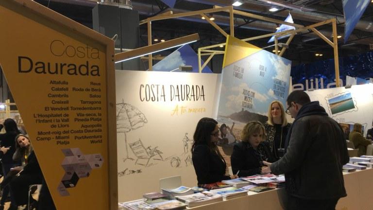 Tarragona es fa present a FITUR amb el Patronat Municipal de Turisme
