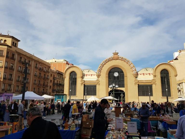 El mercat de Sant Quadrat es trasllada a la plaça de Corsini