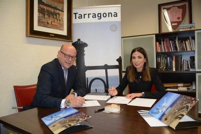 El Patronat de Turisme i MOVELIA signen un conveni per promocionar Tarragona com a destinació turística