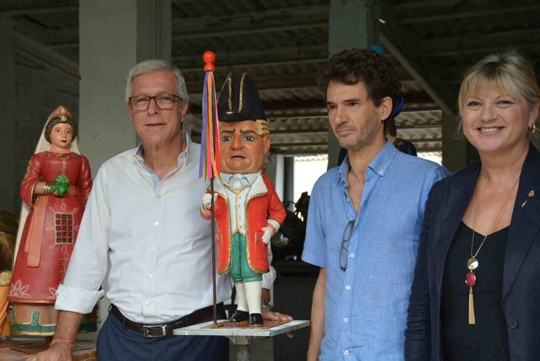 Les figures del carilló s'exposaran al Mercat Central el divendres 28 de setembre