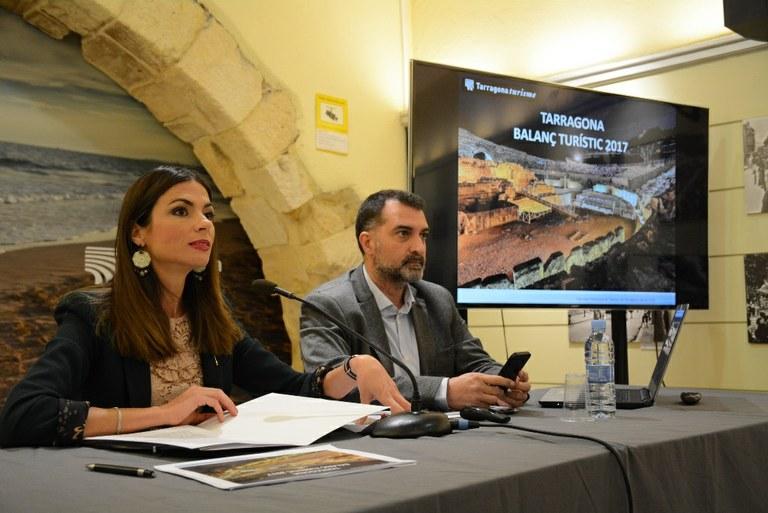Tarragona supera els 2 milions de visitants en un any marcat per xifres rècord