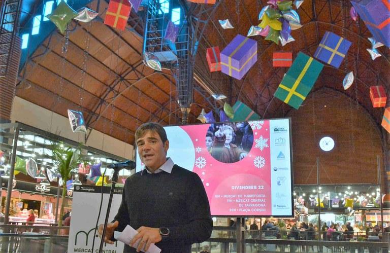 Activitats als mercats amb motiu de les Festes de Nadal