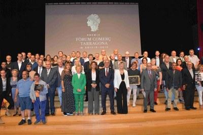 Ahir es van lliurar els premis al comerç de Tarragona  en un acte que va tenir lloc al Palau de Congressos