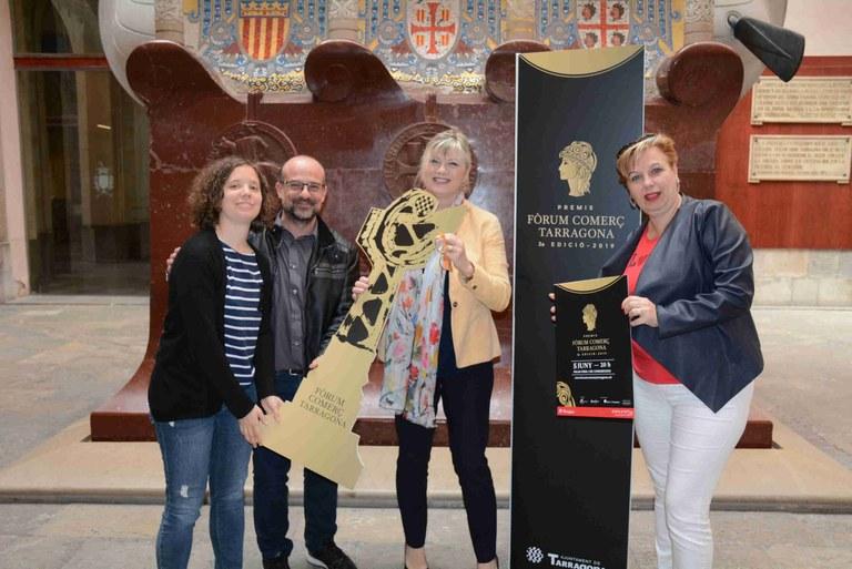 El 5 de juny Tarragona celebrarà la segona edició dels Premis Fòrum Comerç