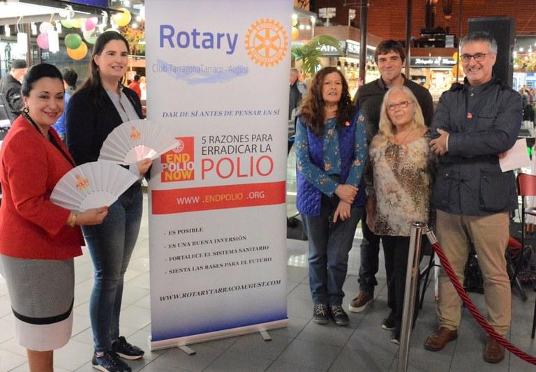 El Mercat Central, escenari de la lluita contra la poliomielitis