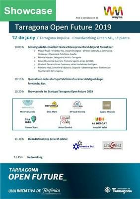 Els participants del programa d'acceleració empresarial Tarragona Open Future exposen els seus projectes