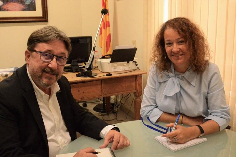 L'Ajuntament de Tarragona i PIMEComerç es comprometen a treballar per dinamitzar el comerç de la ciutat