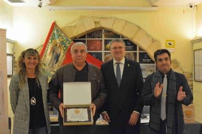 L'alcalde Ricomà presideix el lliurament de reconeixements al gremi comarcal d'artesans forners de Tarragona