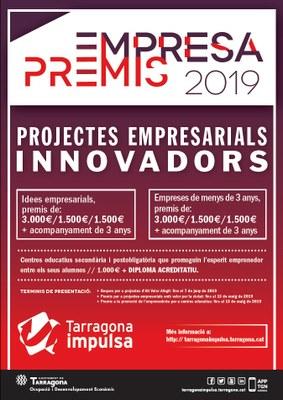 La setena edició dels Premis Tarragona Impulsa acompanyen i promouen l'esperit emprenedor