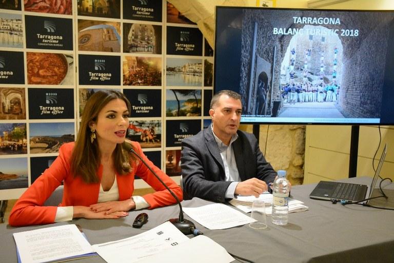 Nou rècord de pernoctacions a Tarragona el 2018, amb gairebé 1,5 milions