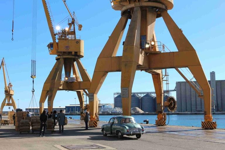 """S'estrena la sèrie de Netflix """"Hache"""", amb seqüències rodades al Port de Tarragona"""