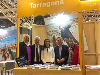Tarragona consolida la seva presència a Fitur el segon any amb estand propi