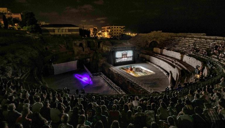 Un total de 6.829 espectadors han assistit a l'espectacle Amfiteatrvm