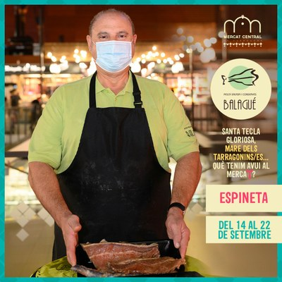 El Mercat Central i el Mercat de Torreforta engeguen la campanya 'Santa Tecla gloriosa' amb grans descomptes en productes de qualitat i proximitat