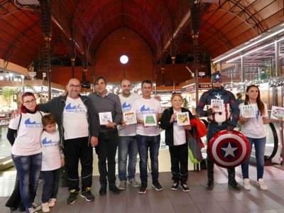 """Els mercats de Tarragona se sumen a la campanya """"Entén la teva ciutat en pictogrames"""""""