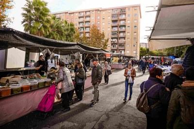 L'Ajuntament de Tarragona es compromet a condonar les tarifes de prestació de serveis als marxants
