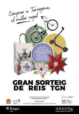 L'Ajuntament de Tarragona organitza el Gran Sorteig de Reis