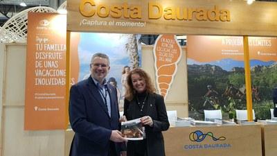 Tarragona fa a Fitur els primers passos per adherir-se a l'Organització Mundial del Turisme i per tenir un parador nacional