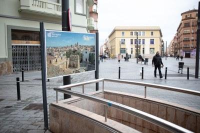 """Tarragona Turisme actualitza els plafons dels plànols de la ciutat amb la sèrie """"Miradors de Tarragona"""""""