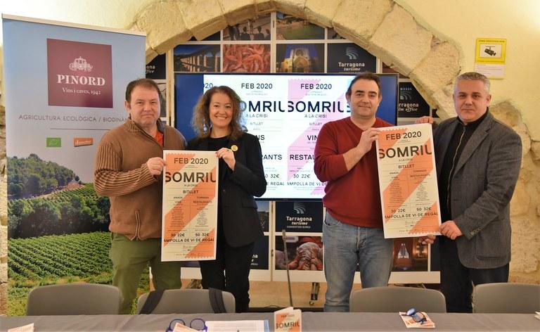 """Tretze restaurants participen en la nova edició de """"La Part Alta somriu a la crisi"""""""