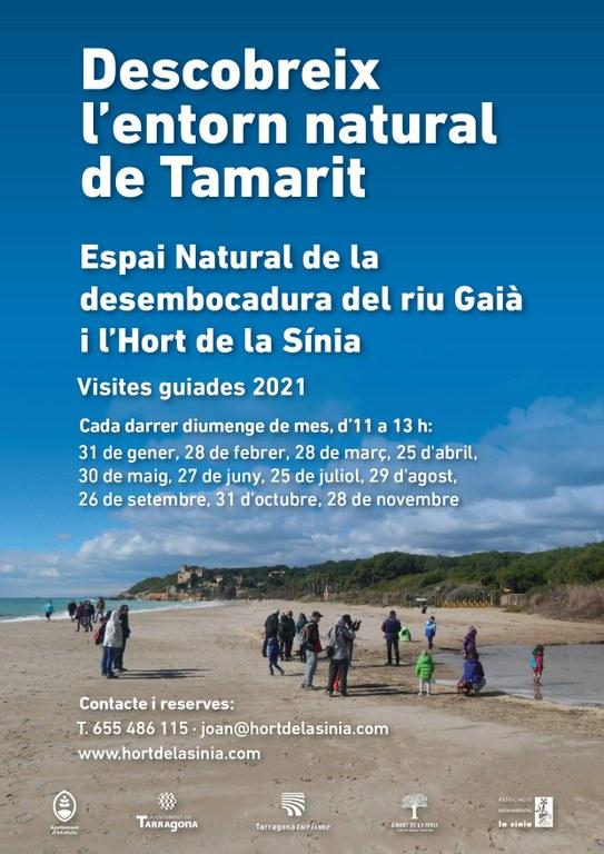Aquest diumenge tornen les visites guiades a l'entorn natural de Tamarit