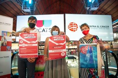 Els Mercats de Tarragona col·laboren amb els Relleus Solidaris de la Lliga Contra el Càncer