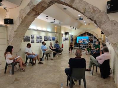 L'alcalde Ricomà es reuneix amb representants d'hotels i càmpings per construir un model turístic integradorn