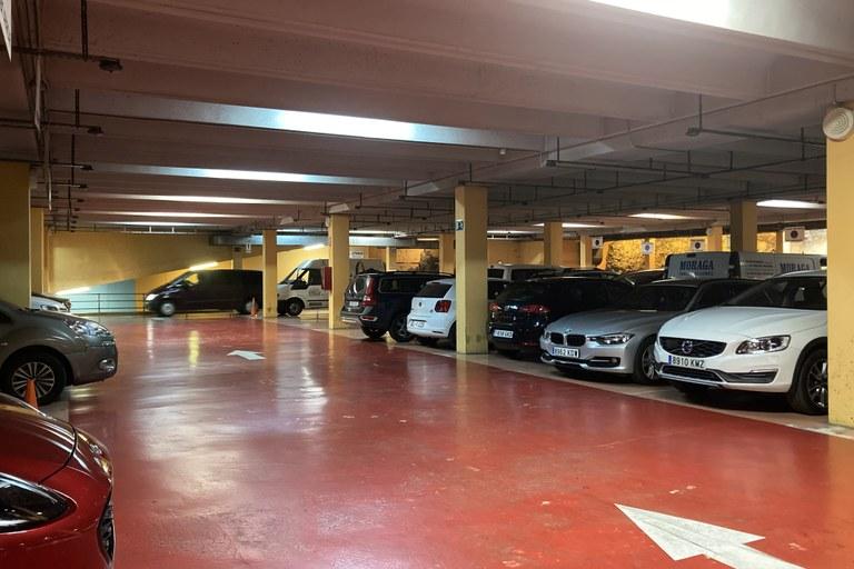 L'Aparcament de Corsini rebaixa el seu preu màxim d'estacionament diari a 4,50€