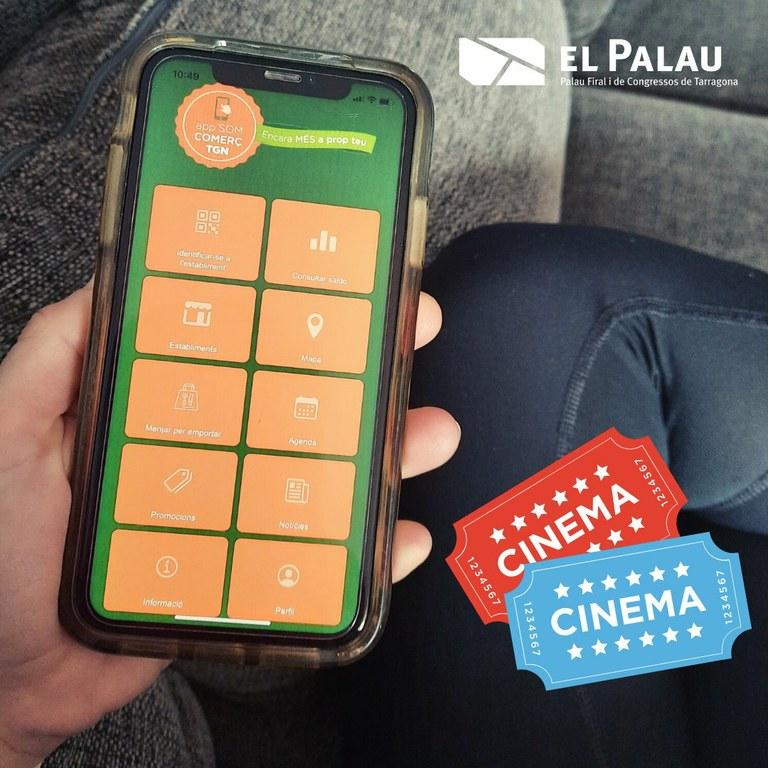L'aplicació Som Comerç TGN sorteja entrades pel cicle Eutyches de cinema en versió original