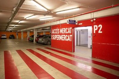 L'empresa Lantania gestionarà l'aparcament del Mercat Central