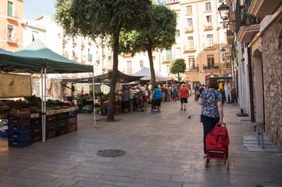 Publicades Les Bases per a l'ocupació puntual d'activitats als Mercadets de Tarragona
