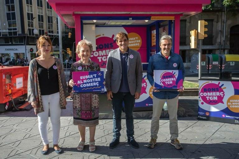 Tarragona posarà en marxa el 22 d'octubre els Bons Comerç Tgn per estimular les vendes dels comerços locals