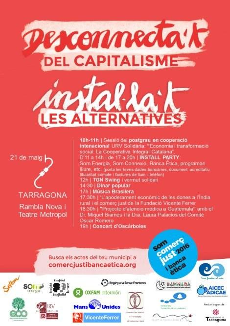 17a Fira del Comerç Just i la Banca Ètica a Tarragona