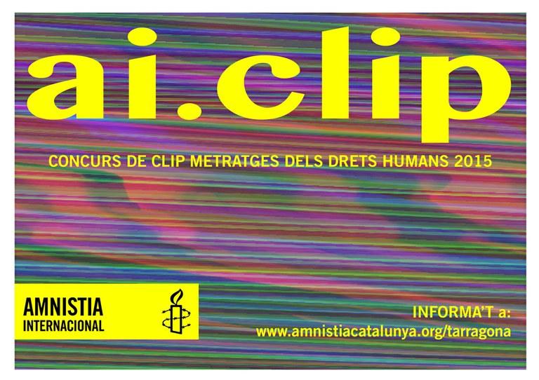Concurs de Clip Metratges d'Amnistia Internacional Tarragona
