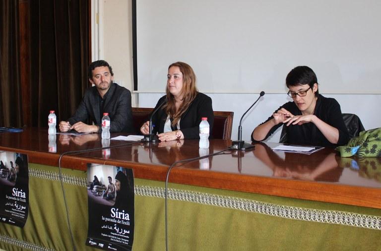 """El departament de Cooperació presenta l'exposició """"Síria, la paraula de l'exili"""""""