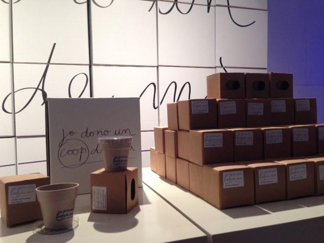 L'exposició Jo dono un coop de mà busca la participació de tots