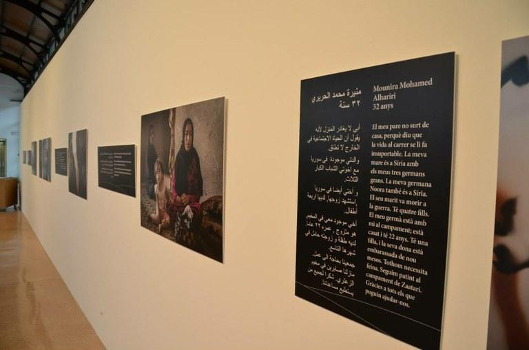 L'exposició 'Síria, la paraula de l'exili' ja gira per diverses poblacions