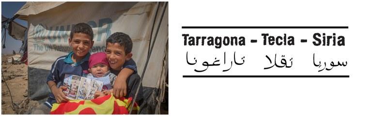 Tarragona-Tecla-Síria vol fer visible la situació de les persones refugiades i la tasca d'ACNUR