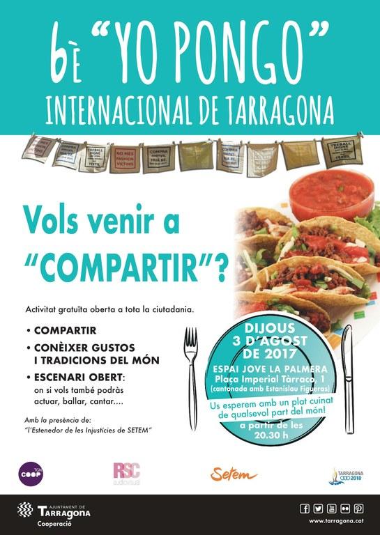 "Arriba el 6è ""Yo Pongo"" Internacional de Tarragona"
